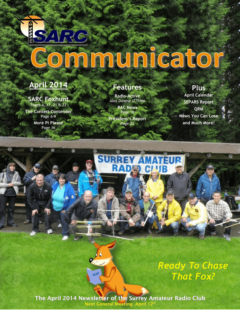 April 2014 - Surrey Amateur Radio Club