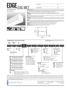 Edge Wet EX6 Direct - Pinnacle Architectural Lighting