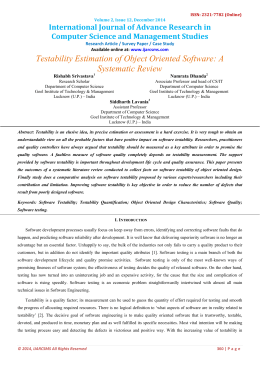 International Journal of Advance Research in