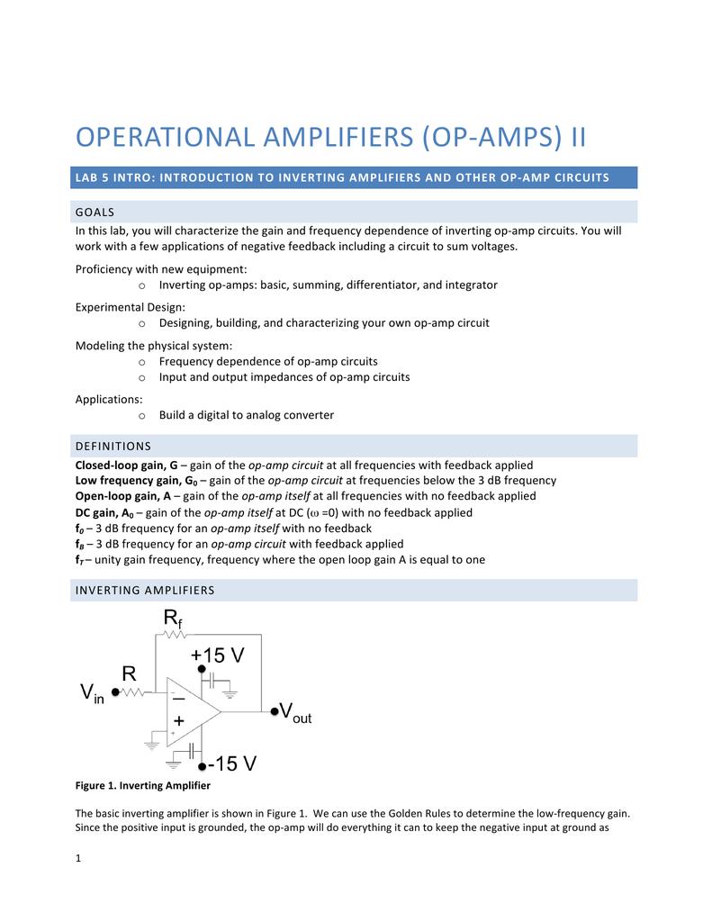 OPERATIONAL*AMPLIFIERS!(OP#AMPS)!II