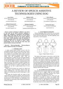 a review of speech assistive technologies using eog