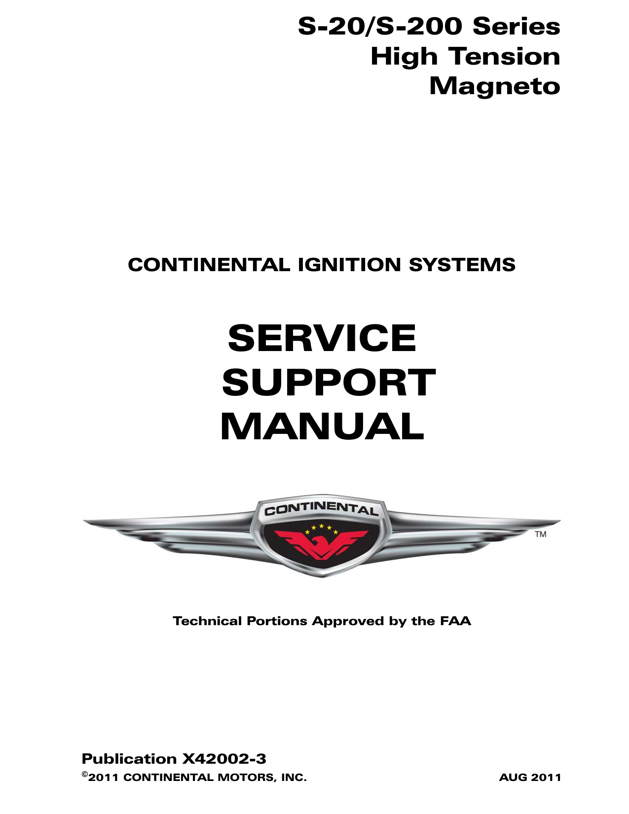 Service Support Manual on