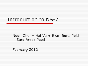 Introduction to NS-2