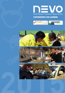 North Eastern Vocational Opportunities – Brochure
