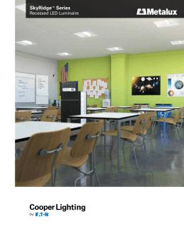Cooper 24SR LD1 48 C UNV L840 CD1 UMetalux Cruze Recessed LED Luminaire brochure. Cooper Lighting Cruze. Home Design Ideas