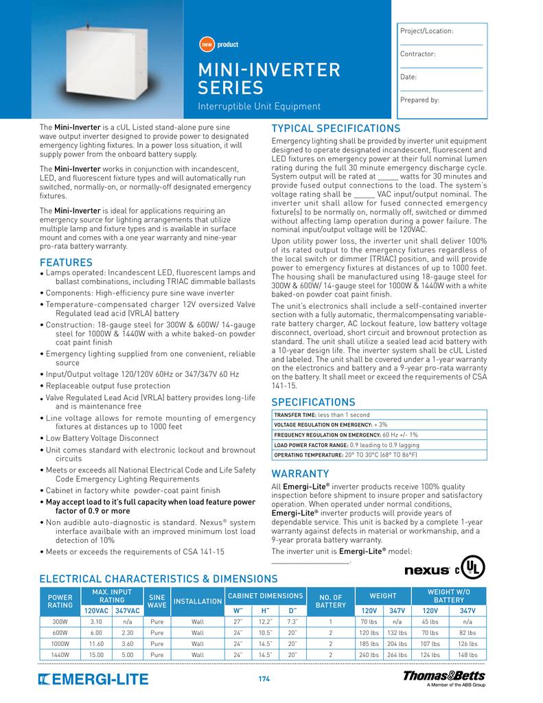 Mini Inverter Series 300w Wiring Diagram Get Free Image About