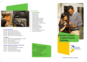 Bachelor of Science in Applied Computer Technology