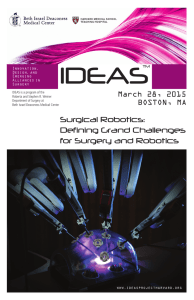 Defining Grand Challenges for Surgery and Robotics