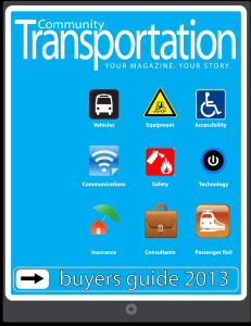 buyers guide 2013 - The Community Transportation Association of