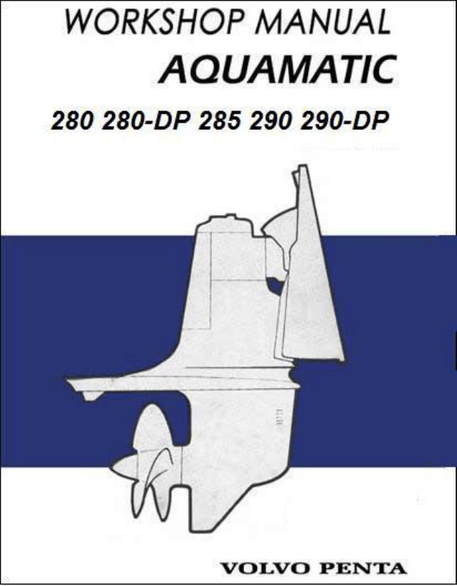 Volvo Penta Workshop Manual on