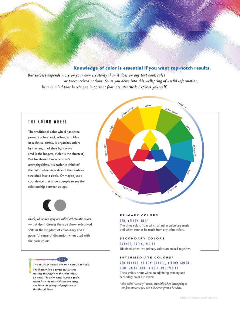View Our As A Designer Color Brochure