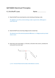 QETA004 Electrical Principles