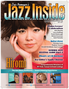 PDF - Jazz Inside Magazine