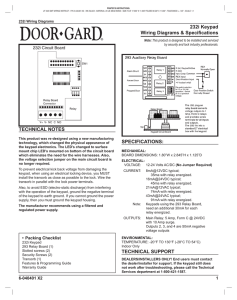 2000 Series e/eM Style Keypad Installation and Programming Guide on