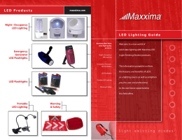 Maxxima LED Guide.indd