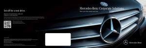 Corporate Solutions Brochure - Mercedes