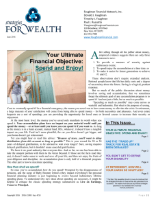 June Newsletter - www Faughnanfinancial com