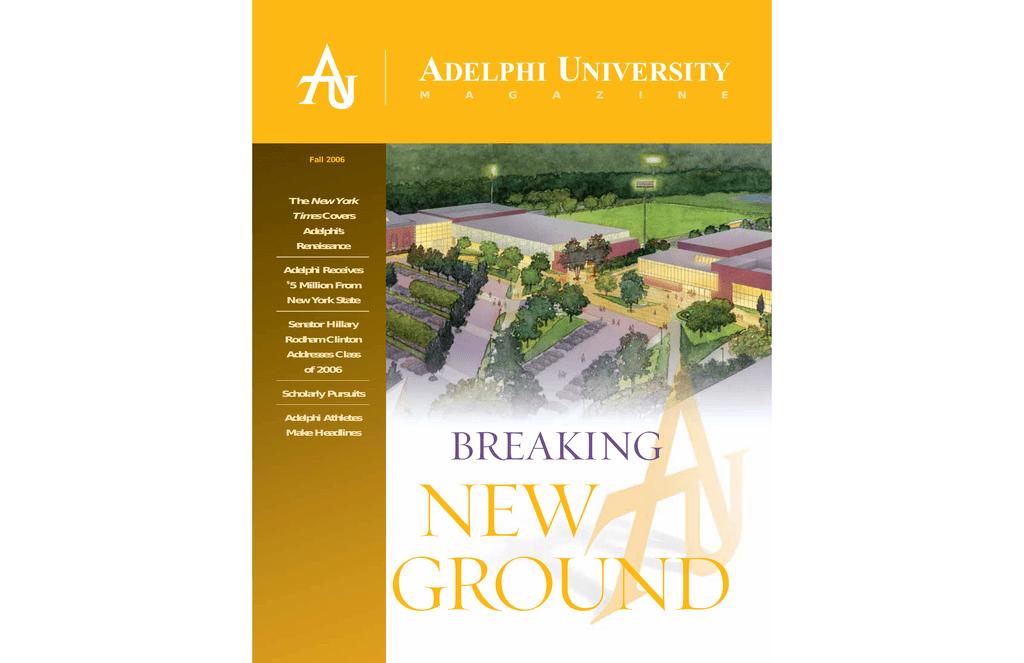1e5a8101 breaking - Adelphi University