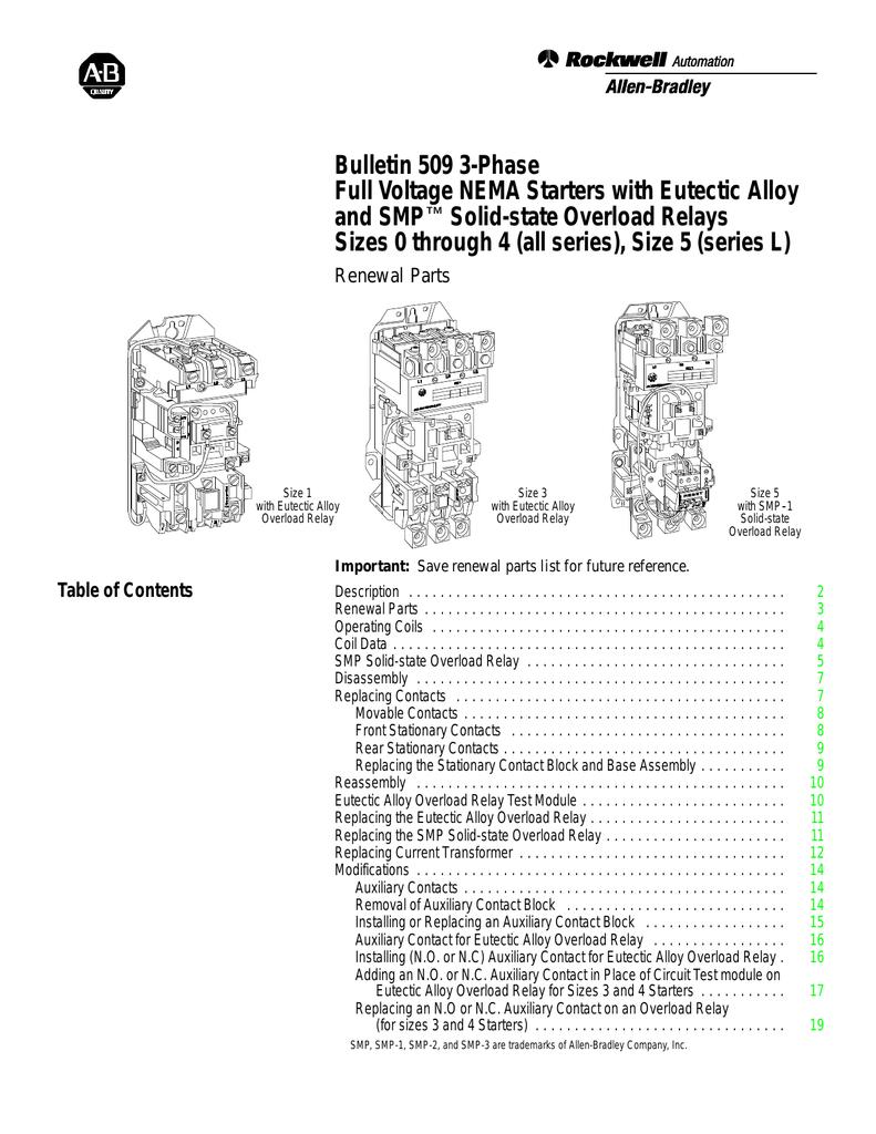 018452750_1 8006512e95a50198ac8e24ea445145fb 509 6 0 bulletin 509 3 phase full voltage nema starters