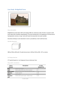 Case Study Bridgefield Farm