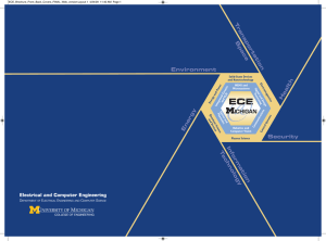 ECE Brochure - EECS - University of Michigan