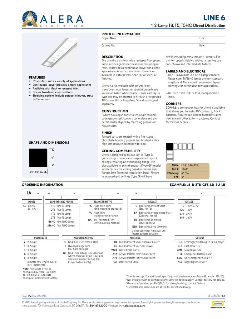 Line 6 Alera Lighting