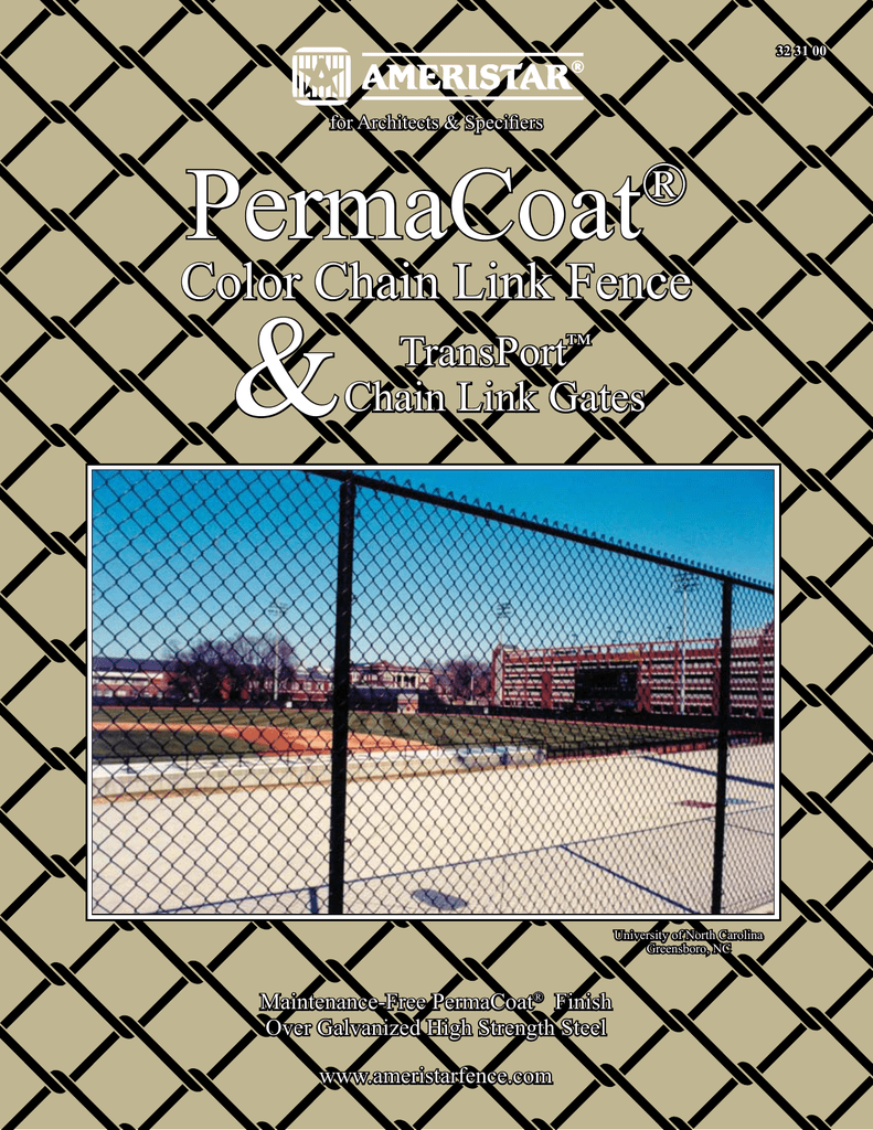 Color Chain Link Fence - Ameristar Fence Products