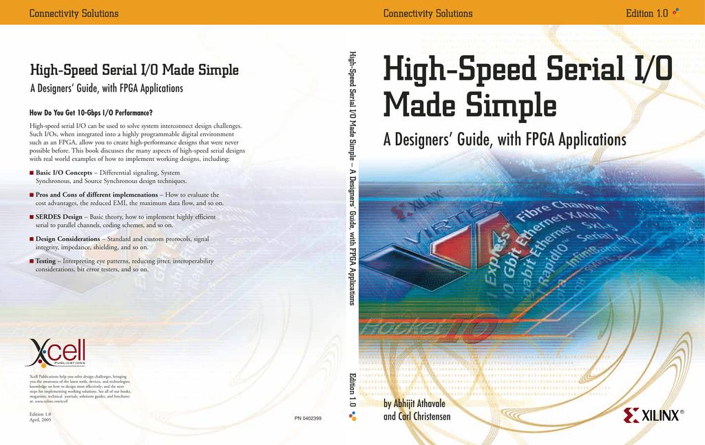 High-Speed Serial I/O Made Simple