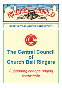 The Central Council of Church Bell Ringers