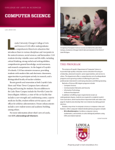 computer science - Loyola University Chicago