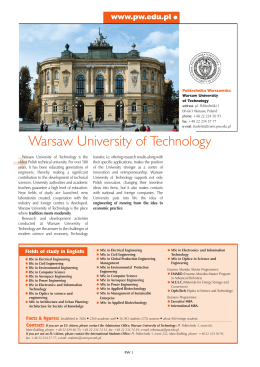 Warsaw University of Technology