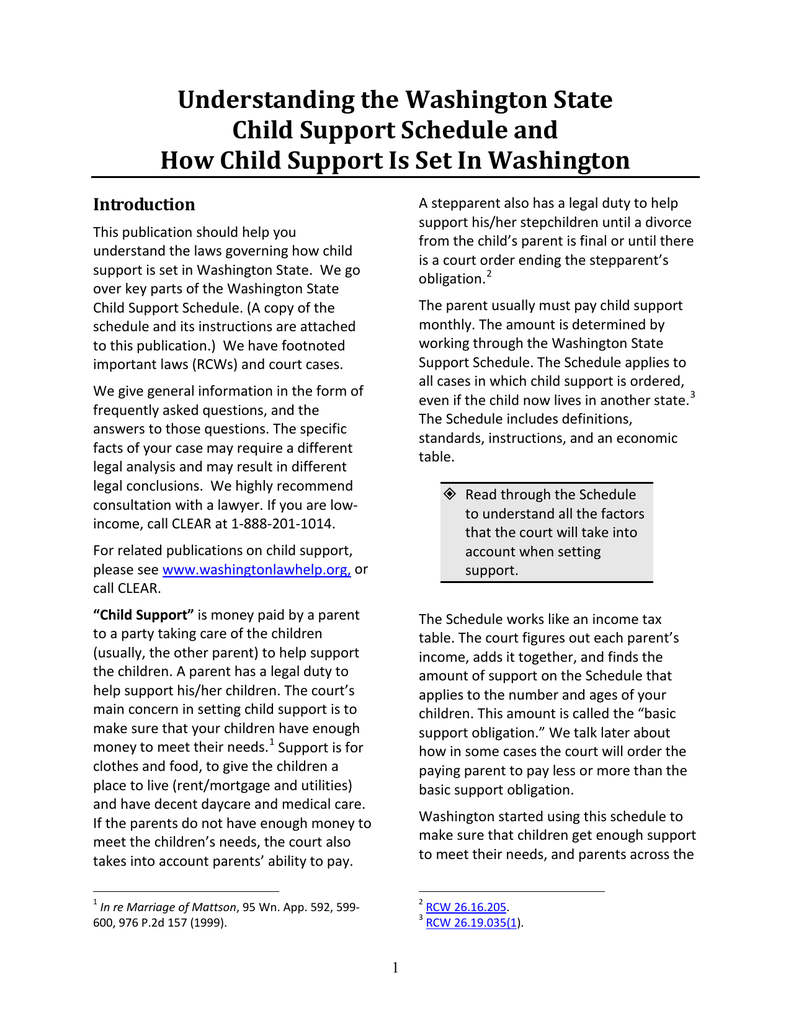 washington child support worksheet Termolak – Maine Child Support Worksheet
