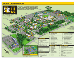 main campus map - Tyler Junior College