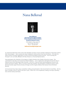 Nana Bellerud Biography - Principal Financial Group