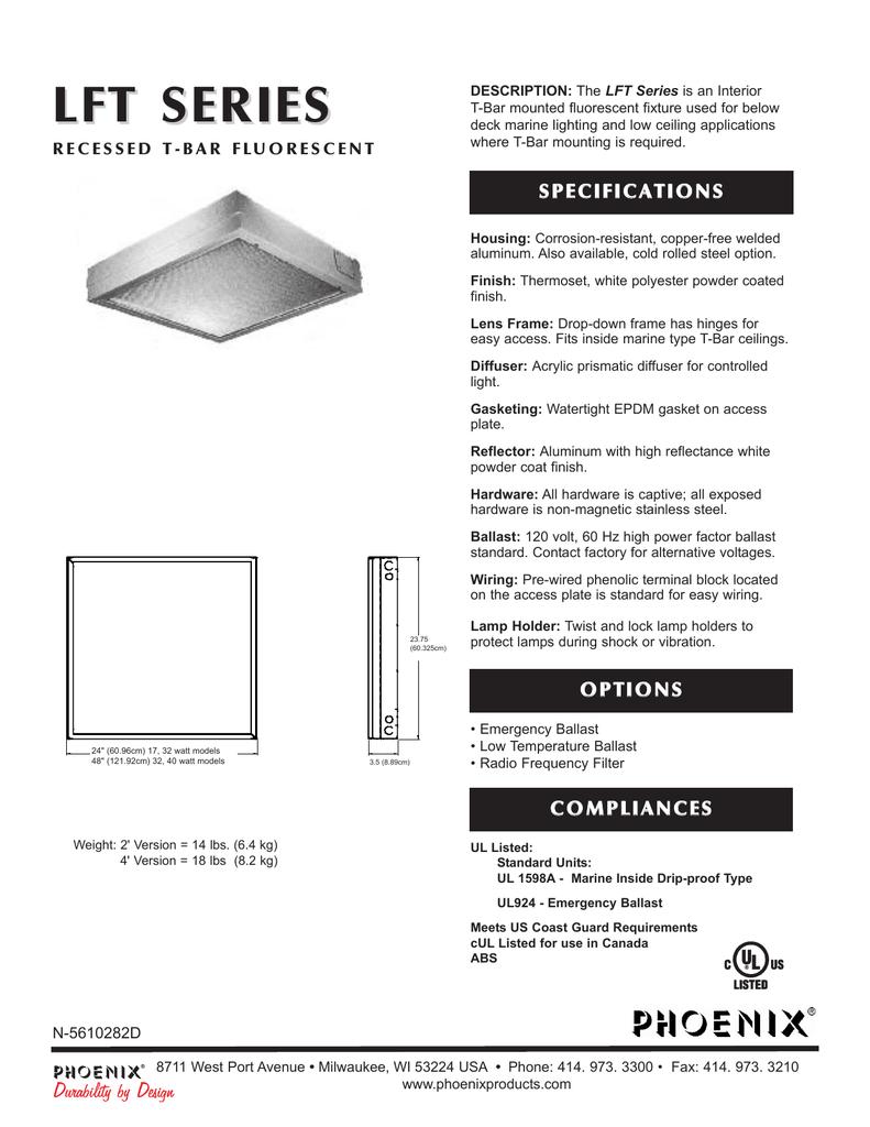 LFT Spec Sheet-N5610282D qxd