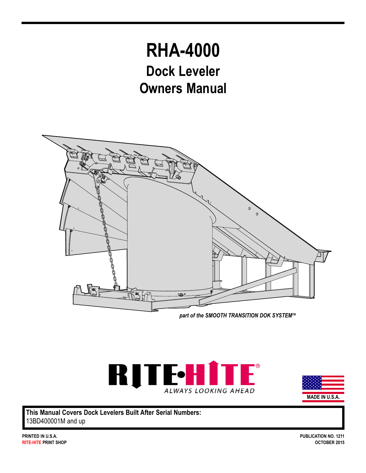 Serco Dock Leveler Parts Diagram