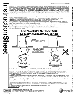 LB6LEDA Instruction Sheet