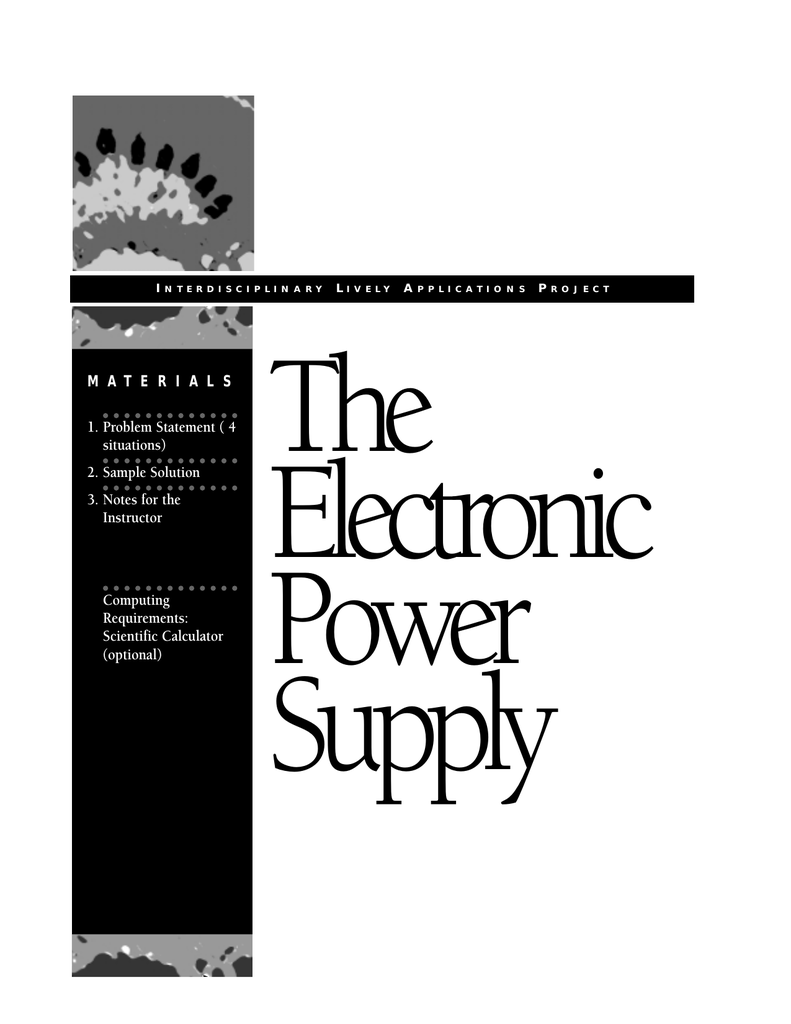 The Electronic Power Supply Circuit Componnent Data Lesson And Etc Zener Diode
