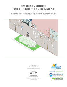EV-READY CODES FOR THE BUILT ENVIRONMENT