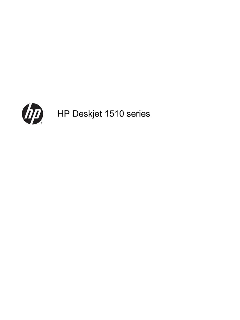 HP Deskjet 1510 series