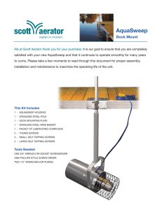 AquaSweep - Scott Aerator Co