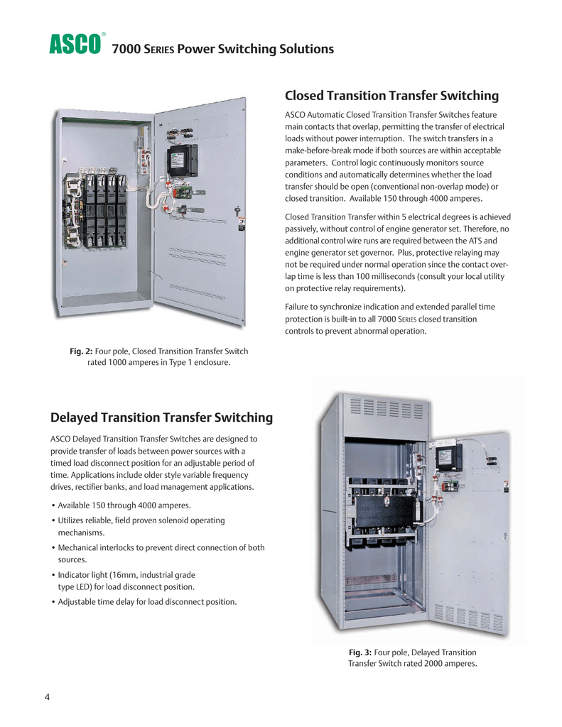 Delayed Transition Transfer Switching Closed Details About Automatic Switch Ats Controller Build Your
