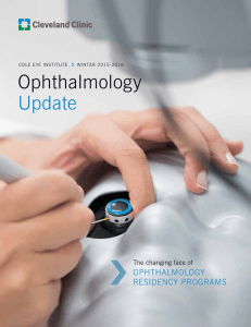 Ophthalmology Update