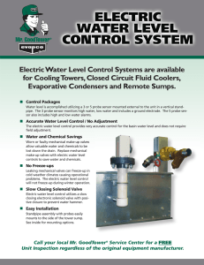 Electronic Water Level Control System
