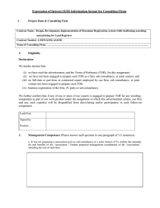 EOI Information Form