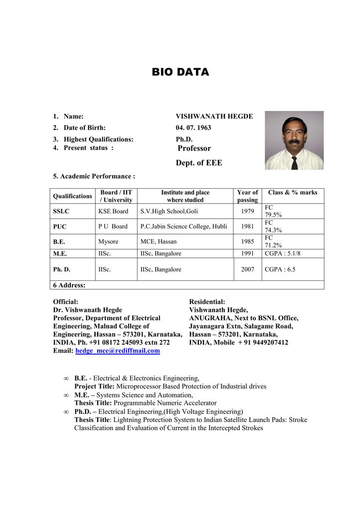 Dr  Vishwanath Hegde - vtu-nptel