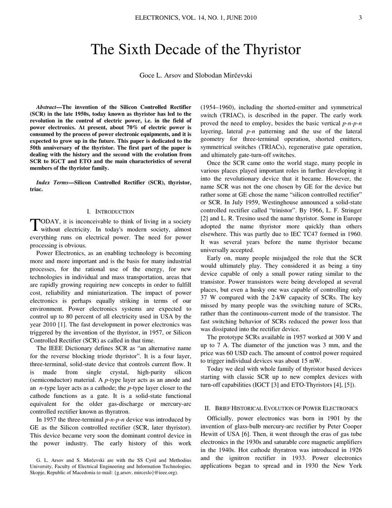 The Sixth Decade Of Thyristor Sidac Basic Operation 018466466 1 4a20508b672044737586a9775bc6bd5a