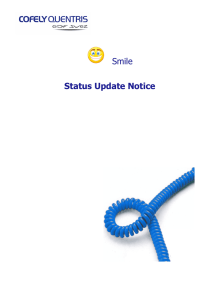 Smile - Status Update Notice