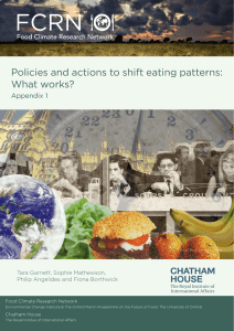 Appendix 1 - Food Climate Research Network