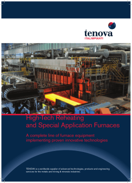 High-Tech Reheating and Special Application Furnaces